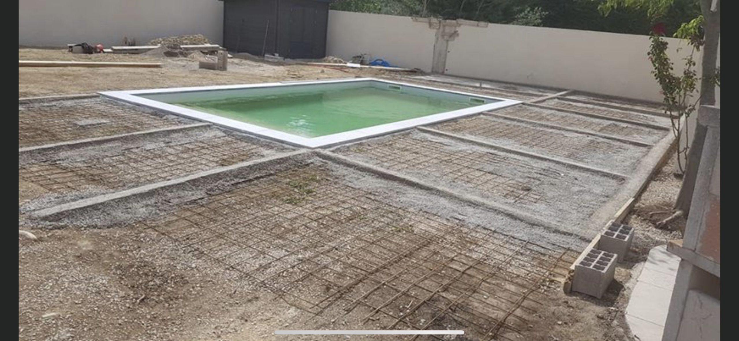 Construction piscine Maussane les Alpilles