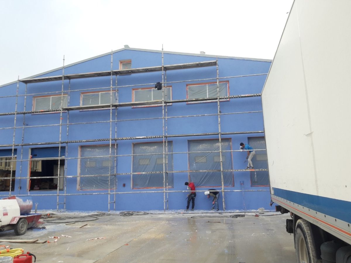 Mise en peinture façade Ventabren